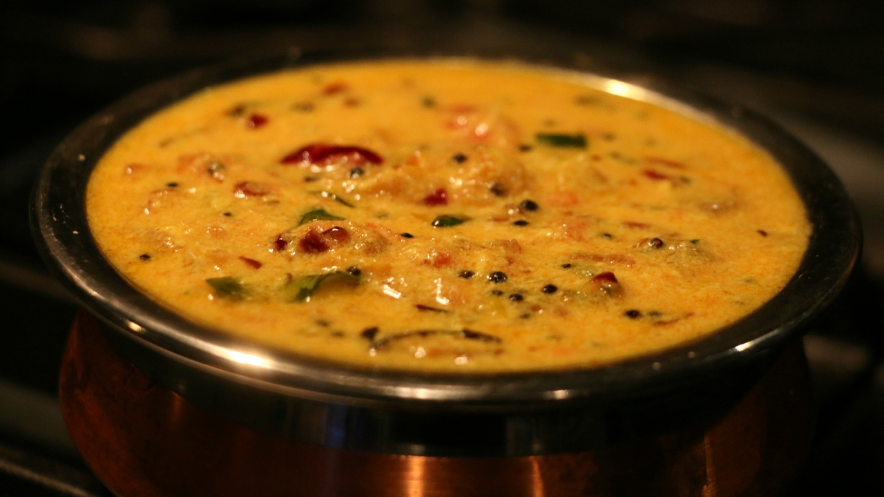 Thotakura (Amarnath) Curd Curry