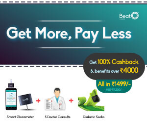 Get More, Pay Less + 100% Cashback for Rs.1499