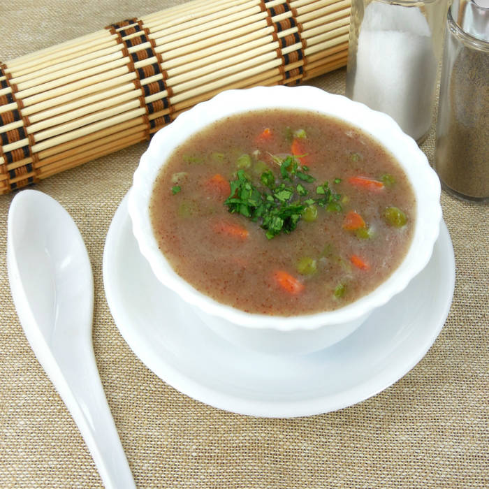 Ragi Almond Vegetable Soup