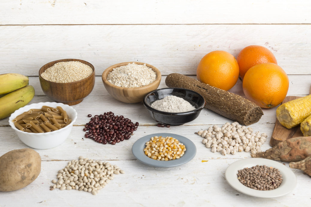 What Carbohydrates must be a part of a Diabetic Diet?