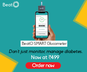 Get 100% cashback on BeatO Blood Glucose Monitor