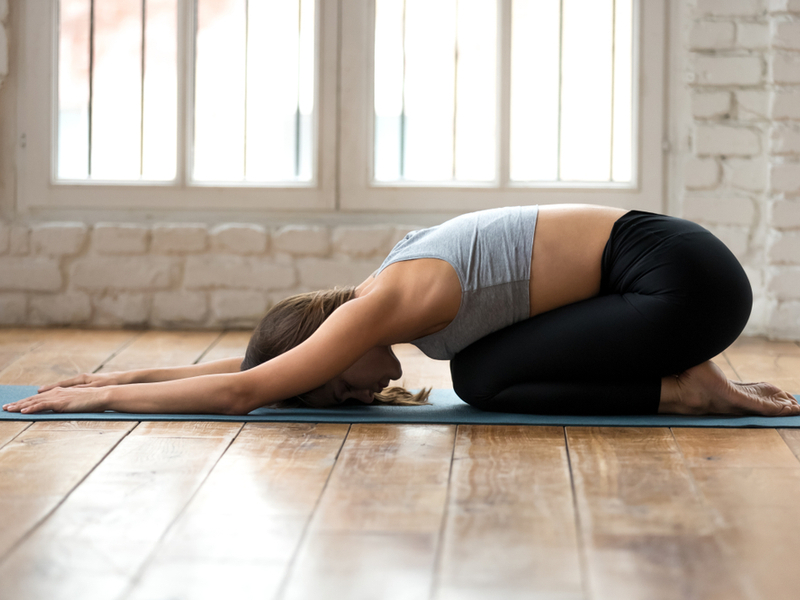 Balasana - Decoding Yoga and Diabetes