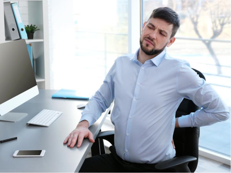 Avoid prolonged sitting
