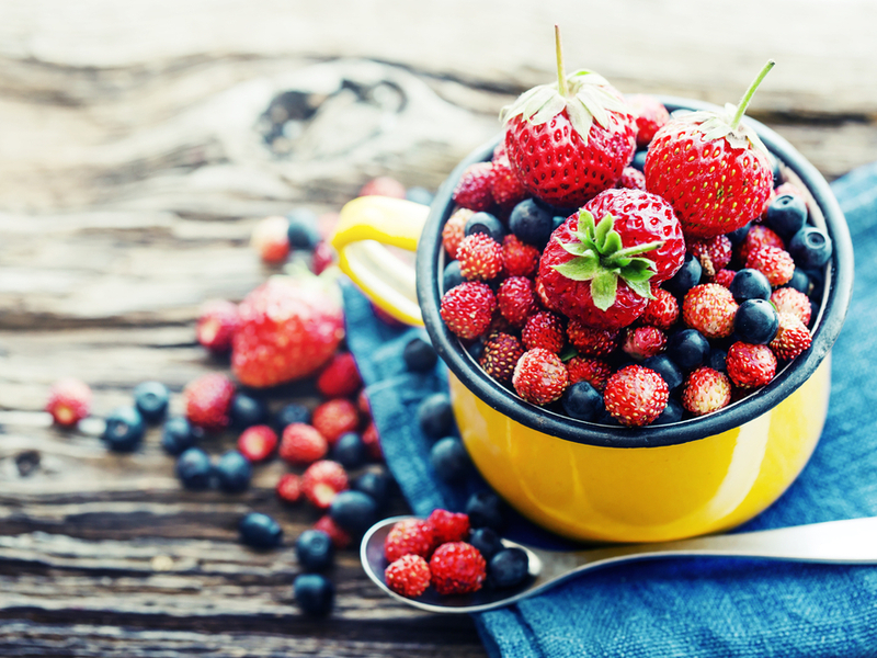Berries - The 10 Best Summer Fruits To Keep Your Blood Sugar In Control