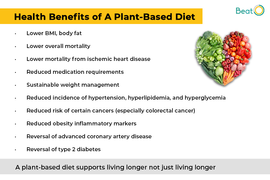 benefits of having a plant based diet