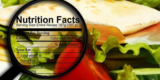 Understand Nutrition Facts Label & Their Calorie Count